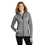 Eddie Bauer® Ladies Full-Zip Heather Stretch Fleece Jacket