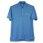 Men's Blue Adidas Polo